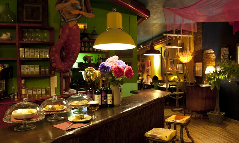 Vegetarian Restaurants in Madrid - La Isla del Tesoro
