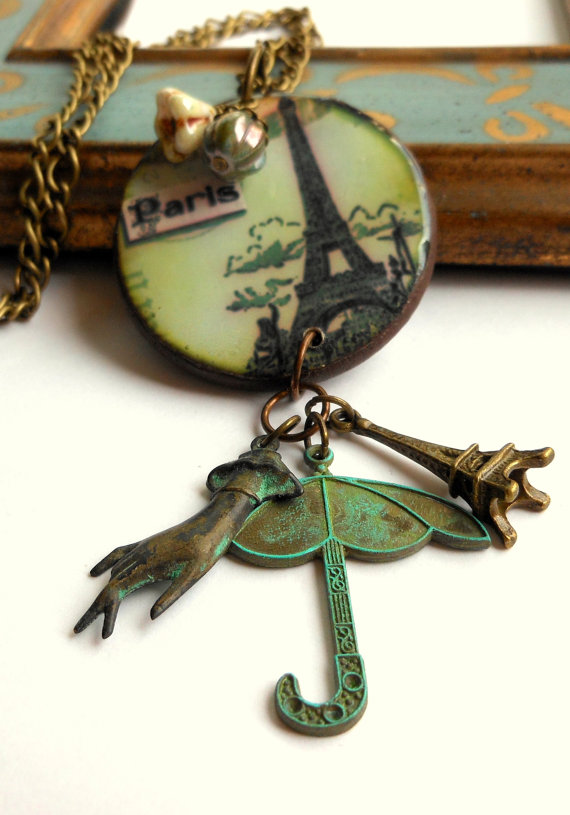 Paris Retro Necklace