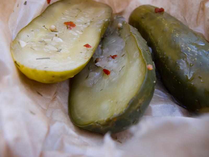 The American Grilled Cheese Kitchen Pickle