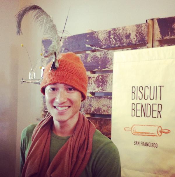 Van Dao owner of Biscuit Bender in the San Francisco Ferry Building