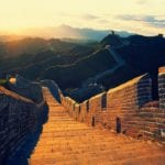 Great Wall of China by Andi Perullo