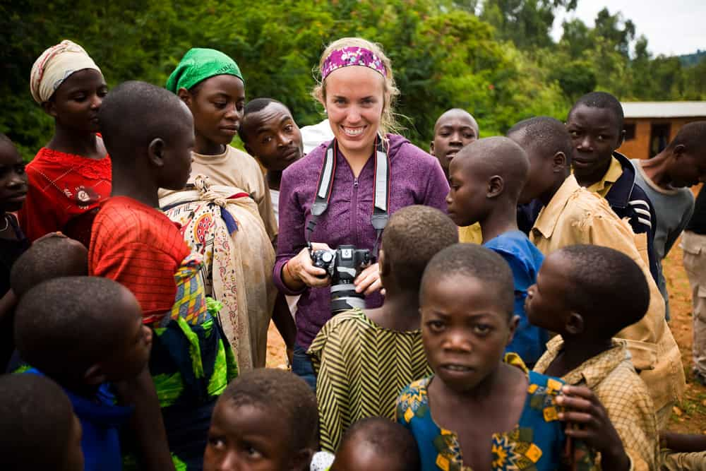 Traveler Tuesday – Kristin Luna of Camels & Chocolate in Lake Kivu, Rwanda