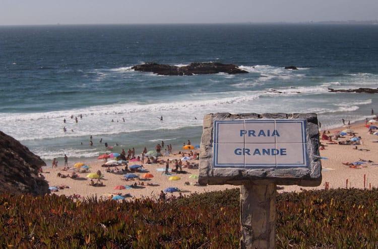 Praia Grande Porto Covo Portugal