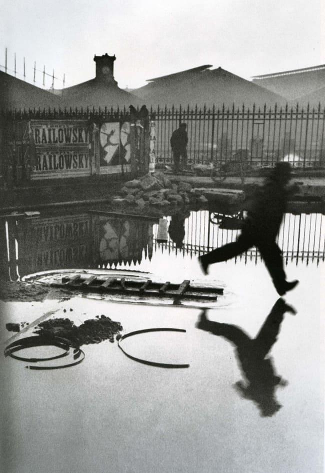 A Passion For Paris - Daisy De Plume - Behind Gare St Lazare 1932 Henri Cartier-Bresson
