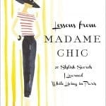 J'adore – Lessons from Madame Chic