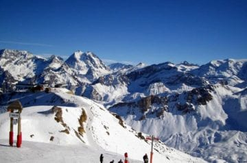 Best French resorts for beginner skiers - Meribel