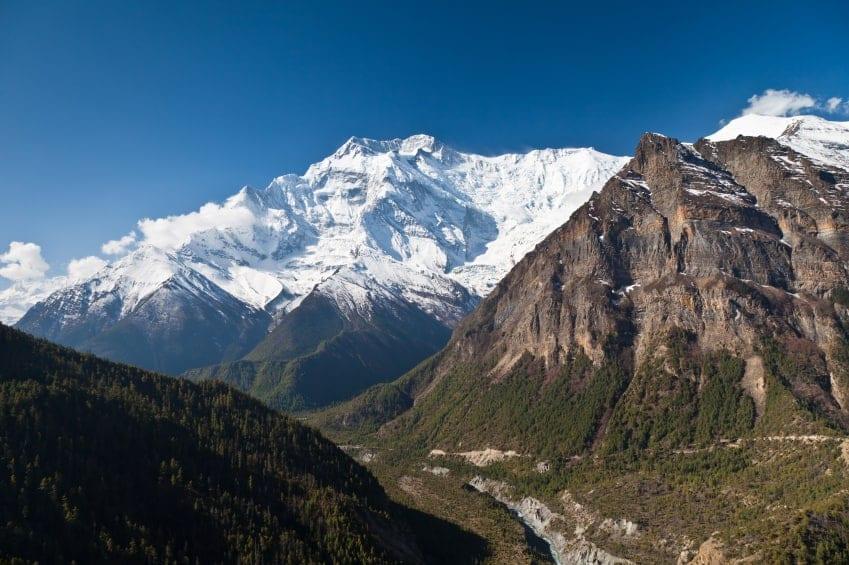 Annapurna mountain, Himalaya