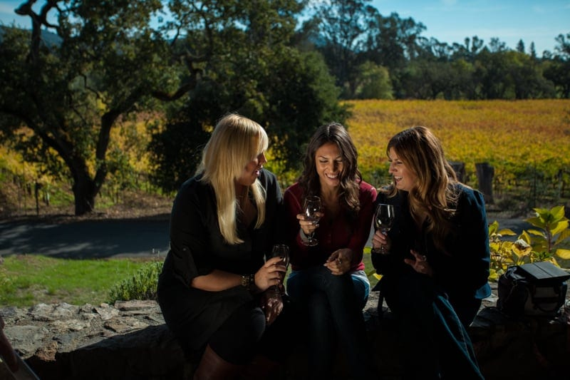 Lovely ladies at Ravenswood Winery
