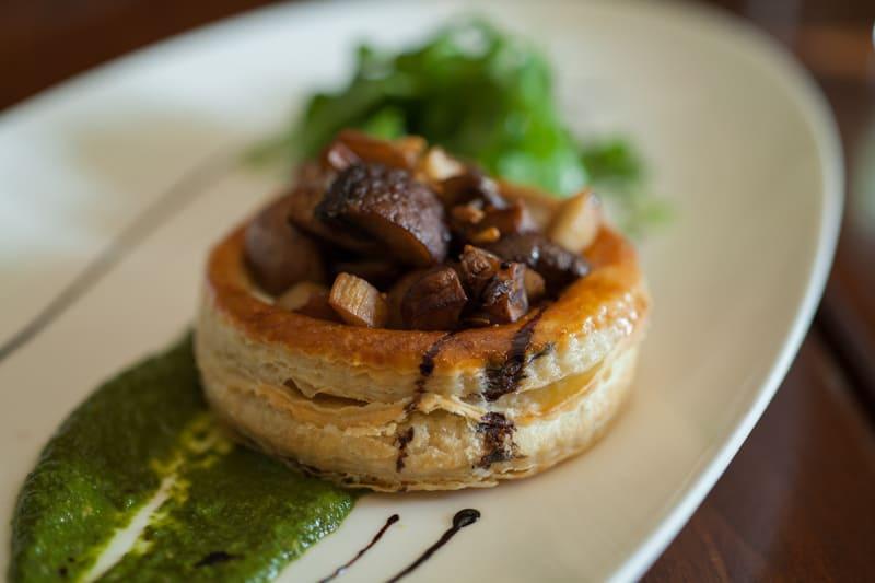 El Dorado Kitchen Wild Mushroom Tart