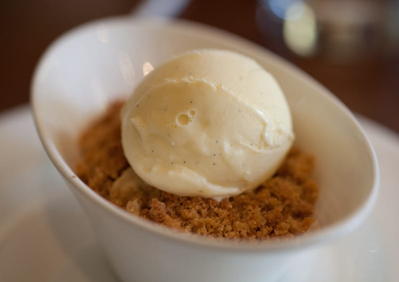 El Dorado Kitchen Banana Crisp