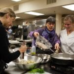 Ramekins Culinary School kitchen