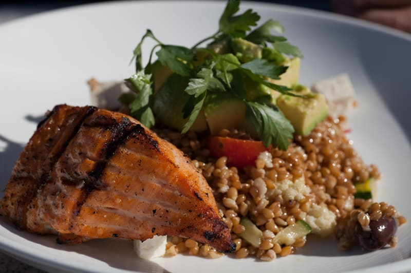 George's at the Cove Farro salad