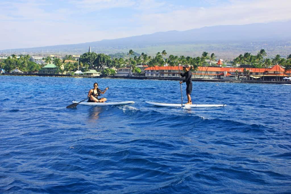 Stand Up Paddleboarding in Kona