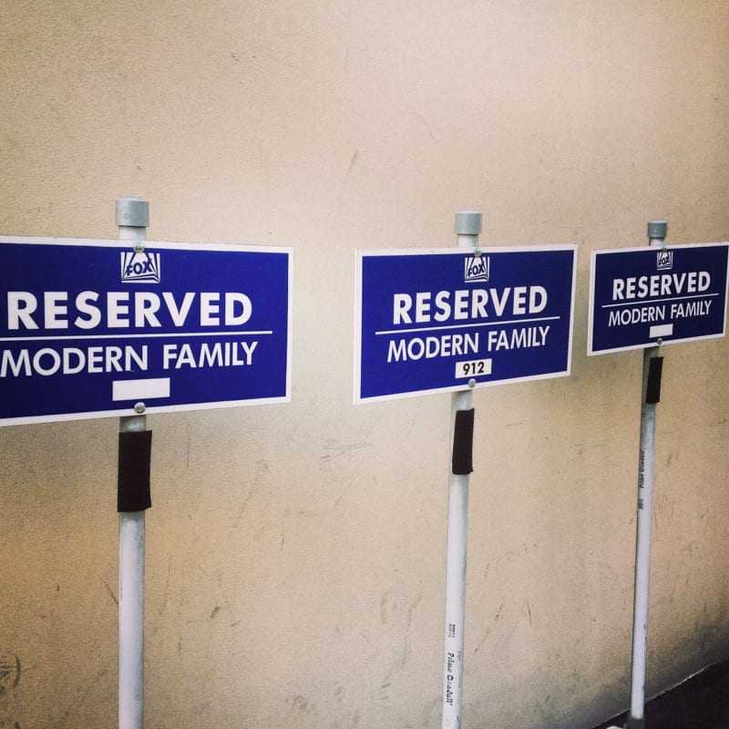 Fox Studios Modern Family Parking