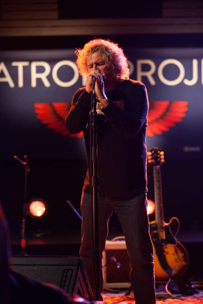 Sammy Hagar performing at TRI
