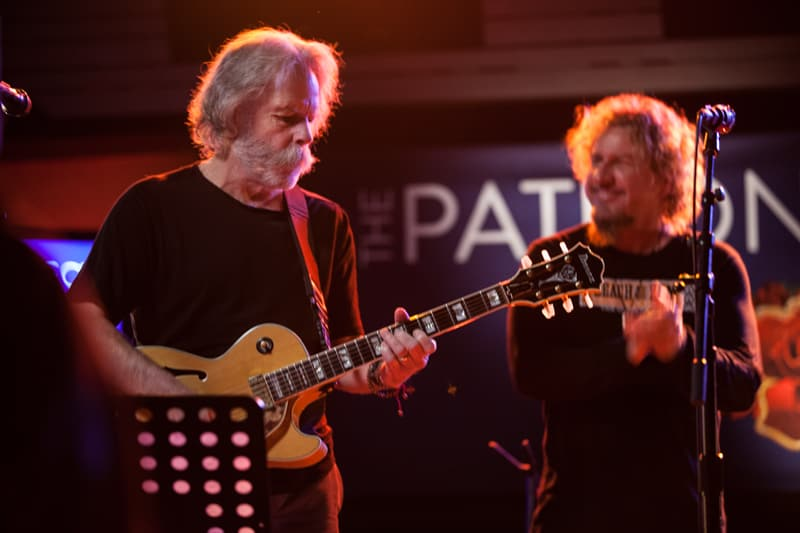 Bob Weir plays at the Patron Project Launch