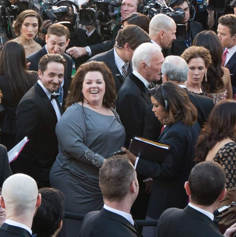 Melissa McCarthy on the red carpet