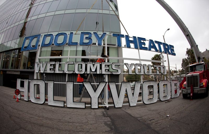 Dolby Theatre Sign All Put Together