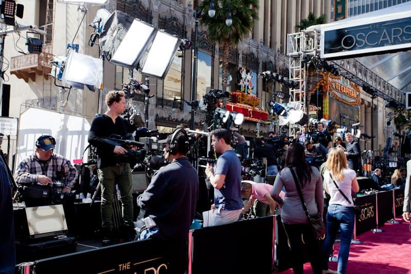 Oscars Red Carpet Media