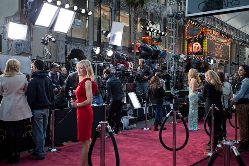 Media on the Red Carpet