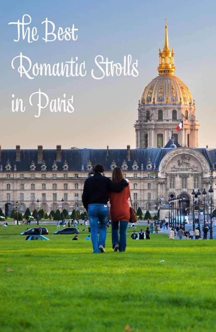 The Best Romantic Strolls in Paris