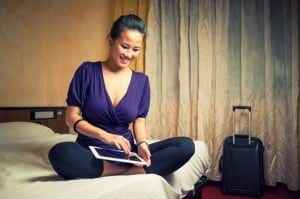 Travel-Gear-Tuesday-Tablet-in-Hotel