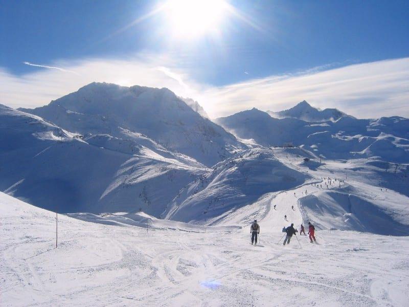 Val Thorens ski France