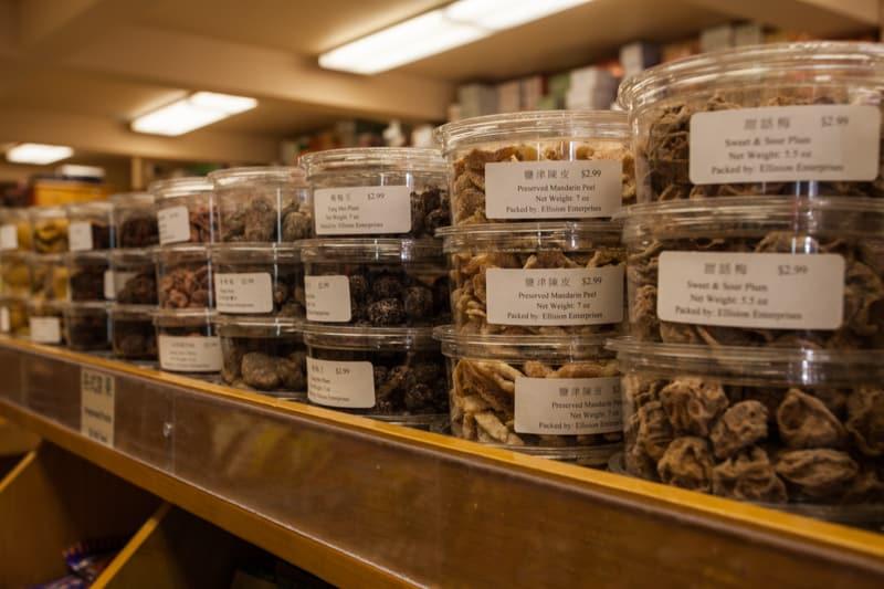 San Francisco Chinatown Herb shop goodies