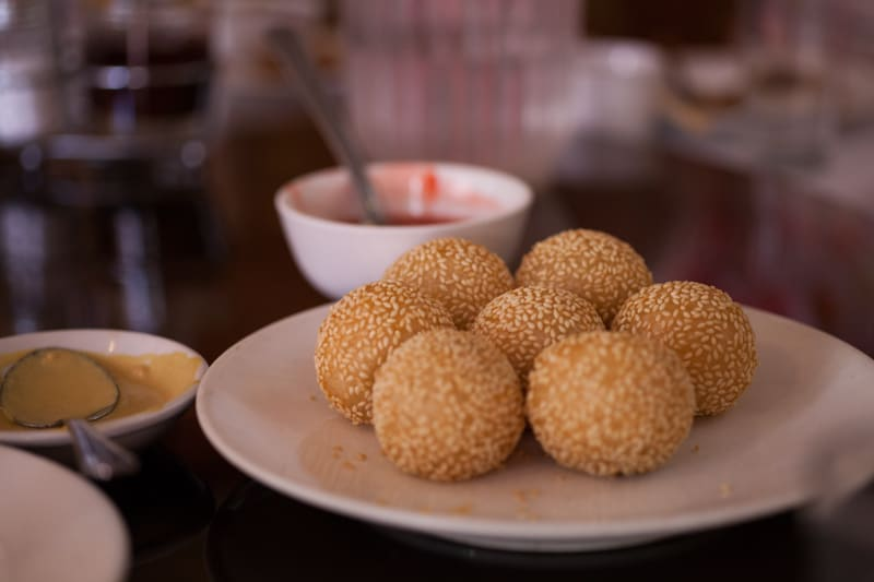 Chinatown Four Seas Sesame Balls