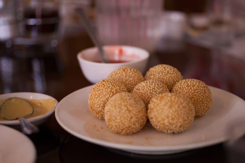 Chinatown Four Seas Sesame Balls