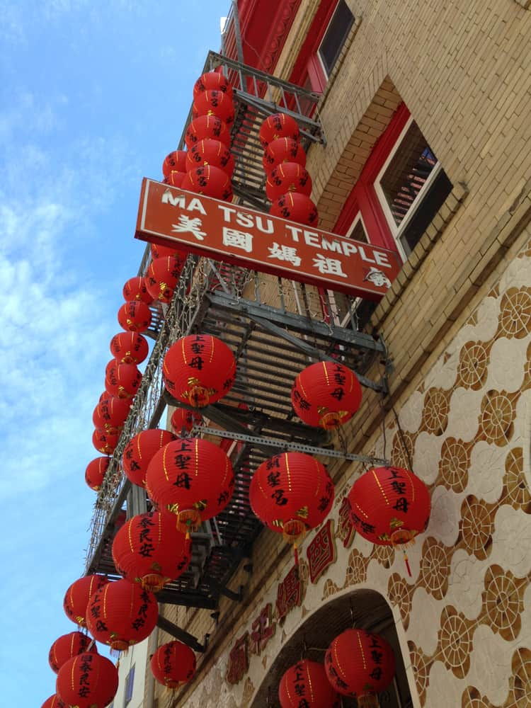 San Francisco Chinatown Ma Tsu Temple