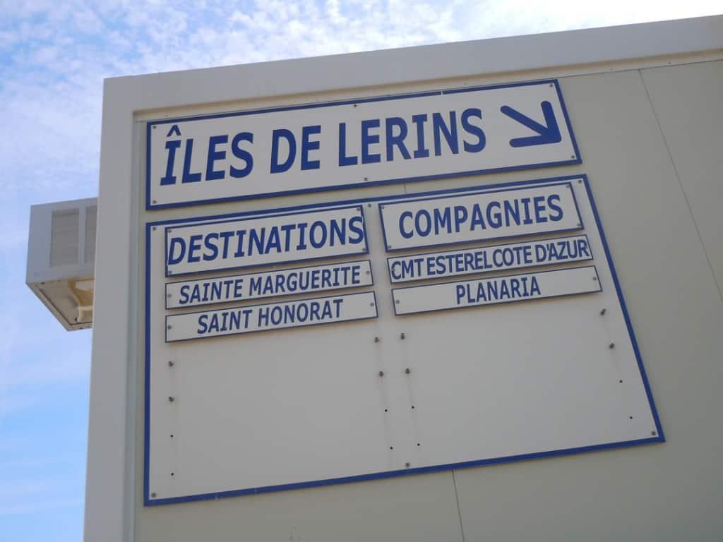 Iles de Lerins Cannes France