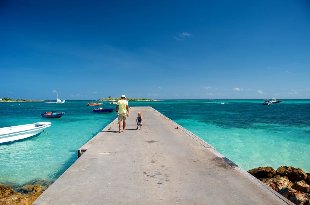 Traveler Tuesday – Patrick Bennett of Uncommon Caribbean with son in Anguilla