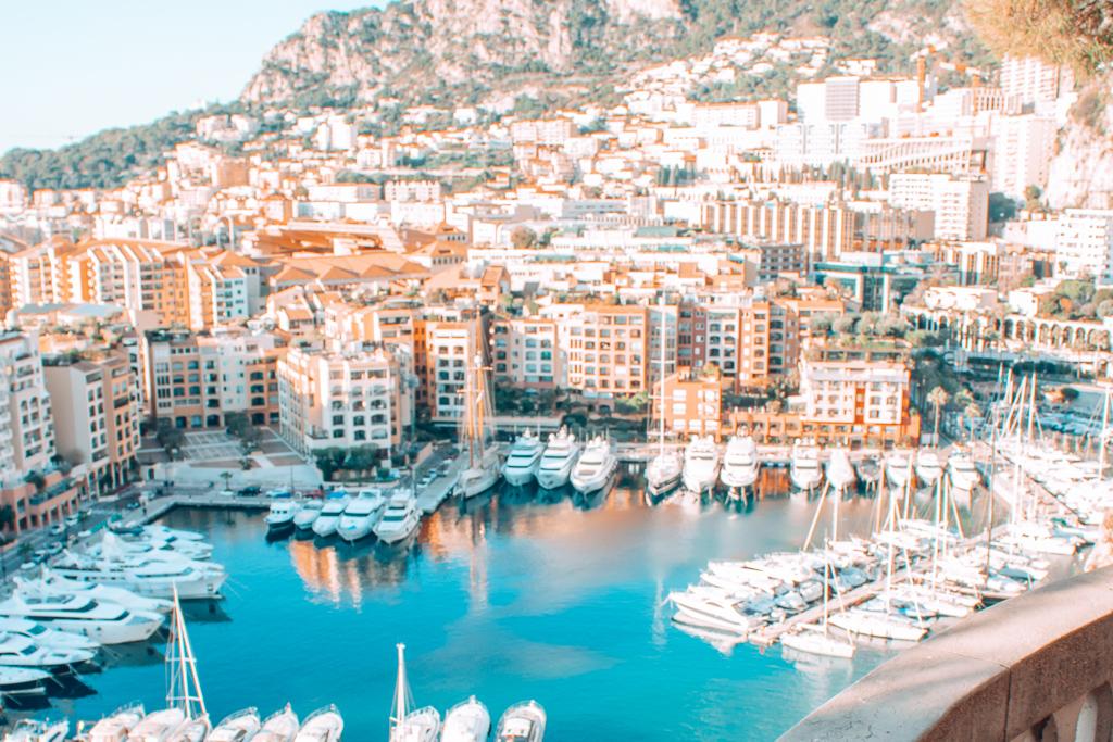 Saint-Martin Gardens in Monaco