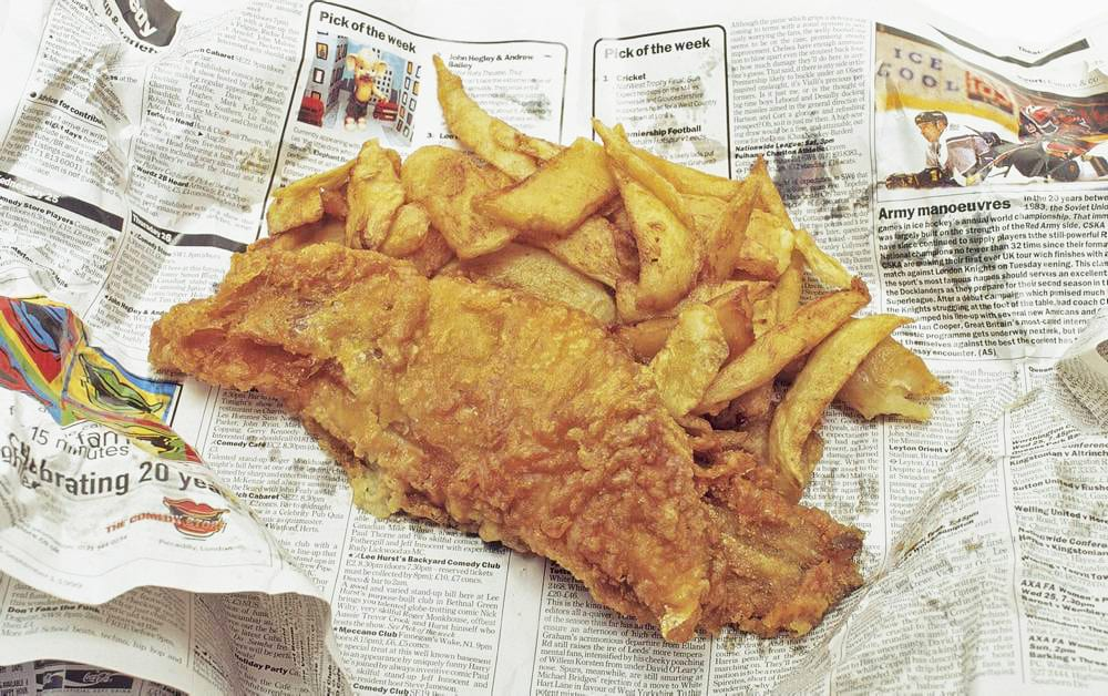 5 Quintessentially British Dishes to Try in London: fish-and-chips