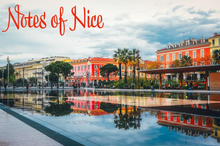 Notes on Nice France