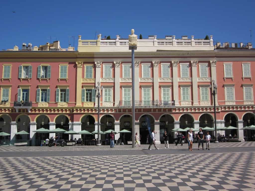 Place Massena Nice France