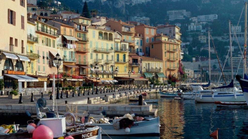 Morning in Nice France