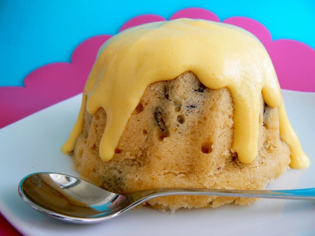 5 Quintessentially British Dishes to Try in London: spotted dick with custard