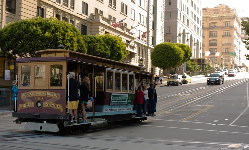Tourist in my Town - San Francisco Cable Car Ride