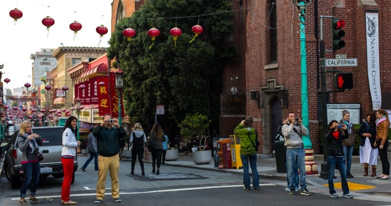 Tourist in My Town Capturing Chinatown