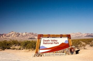 DEATH VALLEY for the Day