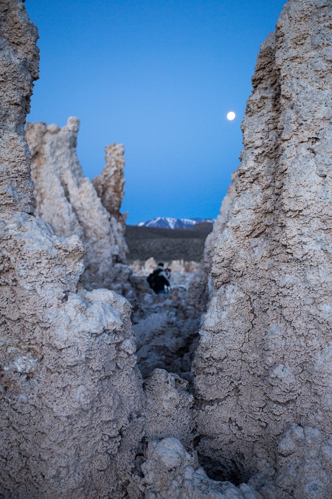 Photographer at Mono Lake