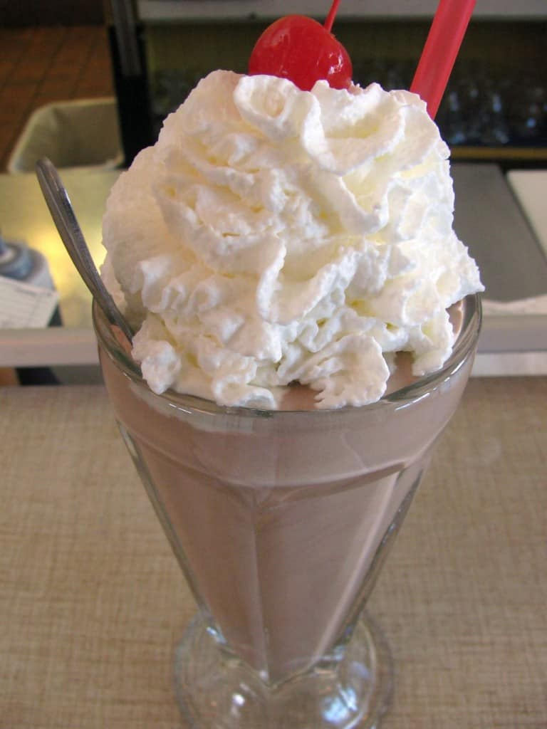 Chocolate_shake_from_St_Francis_Fountain - by Ann Larie Valentine -Flickr