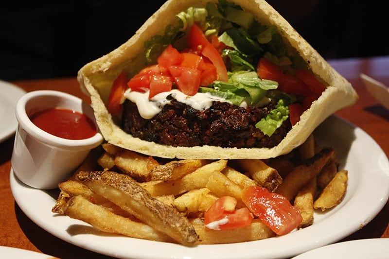 San Francisco for Vegetarians Source-Beet-Burger