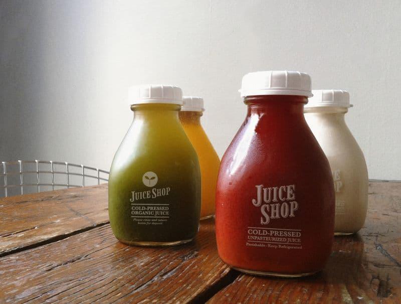 San Francisco for Vegetarians The-Juice-Shop