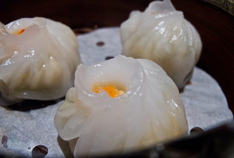 San Francisco Bay Area Dimsum - Yank Sing Scallop Dumpling