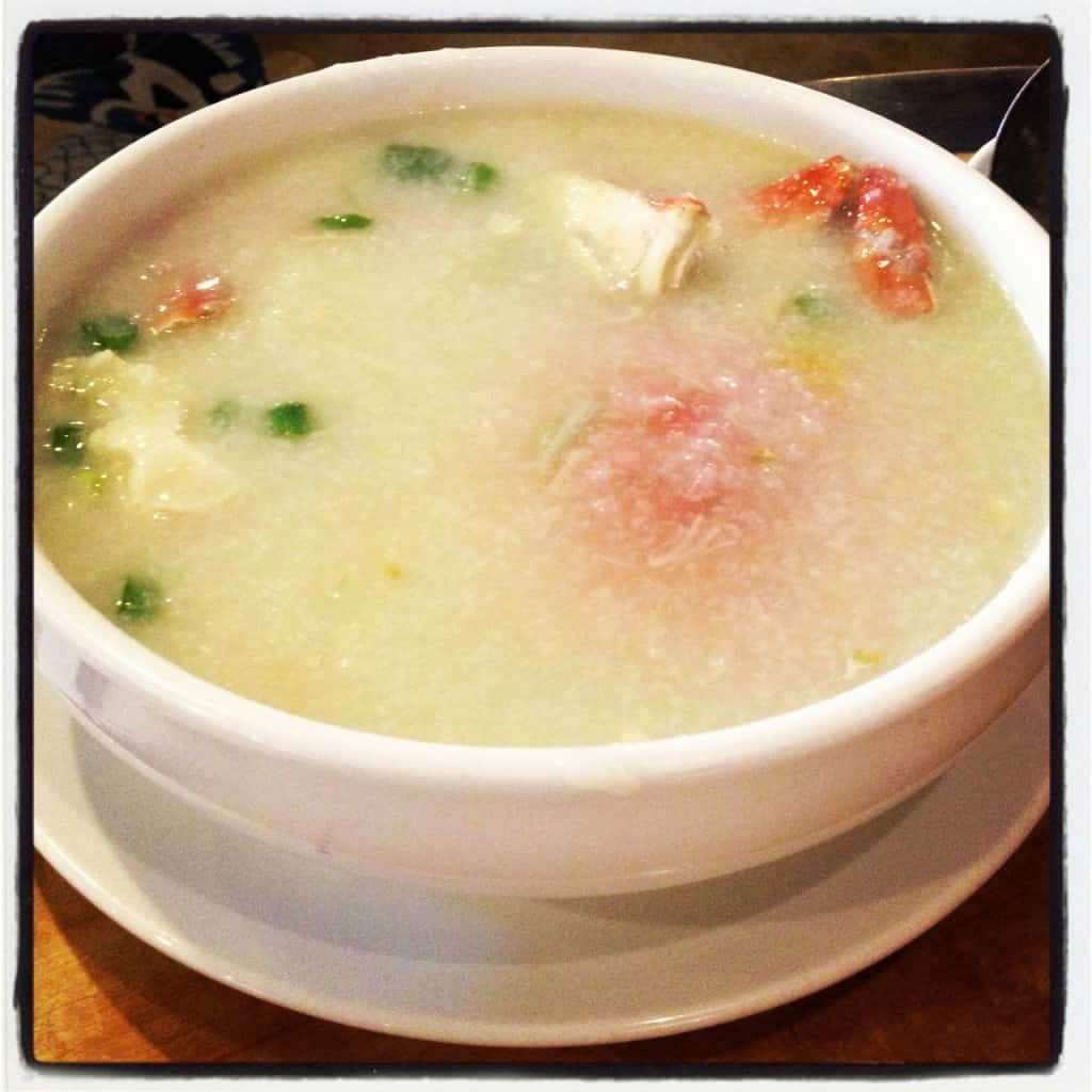 San Francisco Bay Area Dimsum - Koi Palace Crab Congee