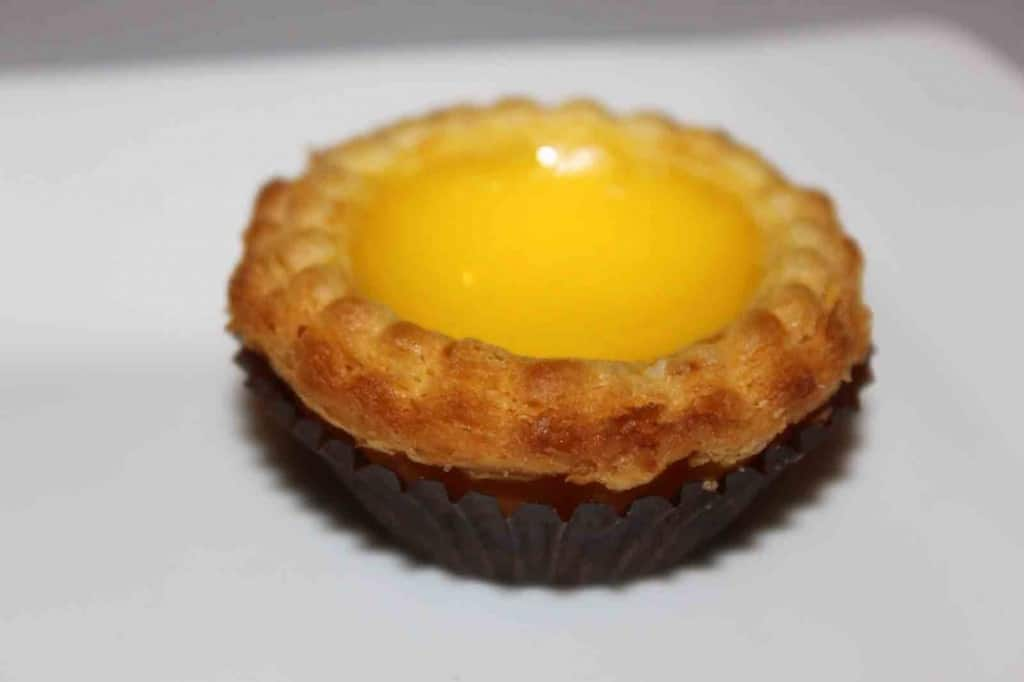 San Francisco Bay Area Dimsum - egg-tart
