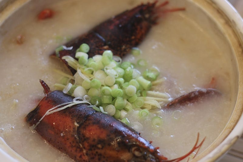 San Francisco Bay Area Dimsum - lobster-congee